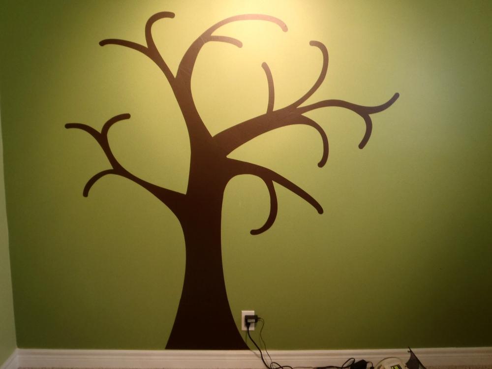 Baby's Room Vinyl Tree! (6/6)