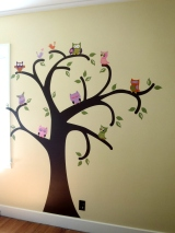 Whooo Loves Owls {on the wall}