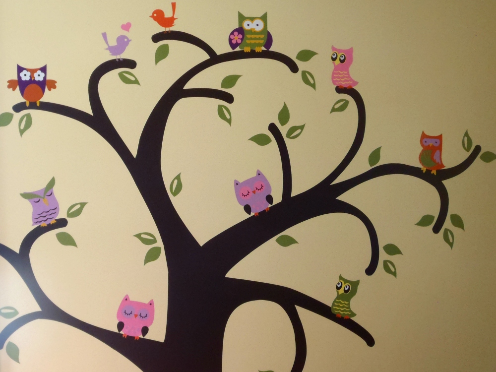 Whooo Loves Owls {on the wall}  (3/3)