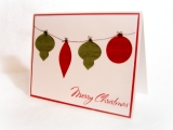 Die Cut Christmas Cards {DIYBackgrounds}